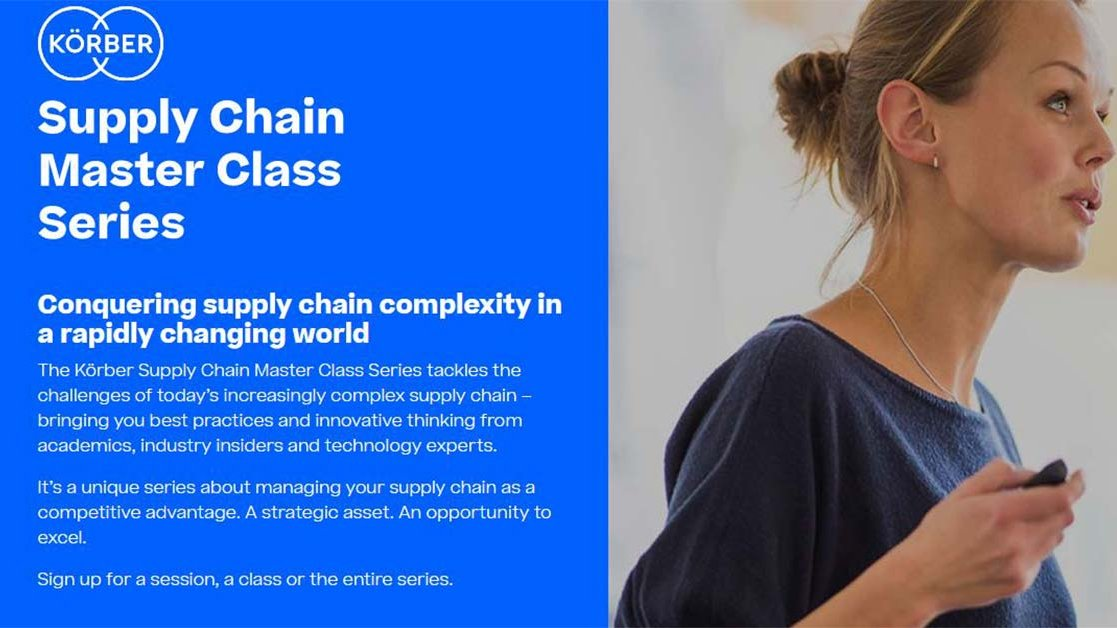 Körber Supply Chain Master Class Series